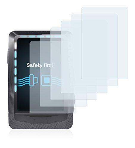 Savvies Protector de Pantalla para Wahoo Elemnt GPS [6 Unidades] - Transparente