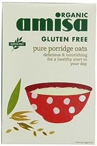 Amisa, Flocons d'avoine pures organiques sans gluten 325g