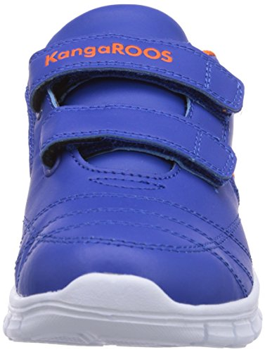 Kangaroos Bluerun 2081, Baskets mode mixte bébé Bleu (Royal Blue/Orange 476)