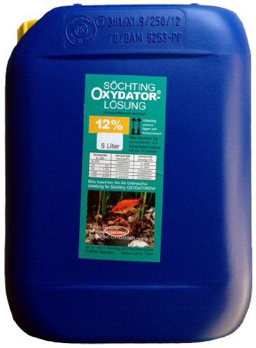 Söchting 12{7975356725189cbc64e71d25b6f638af8db5dbdd04294862813f8d6b492c93fa}ige Oxydator-Lösung 5 Liter