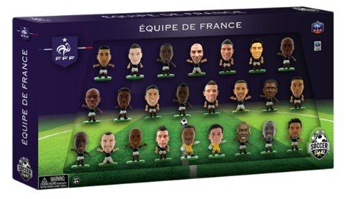 SOCCERSTARZ - 400226 - Figurine Officielle - Sport - Equipe De France À La Coupe Du Monde - Pack De 24