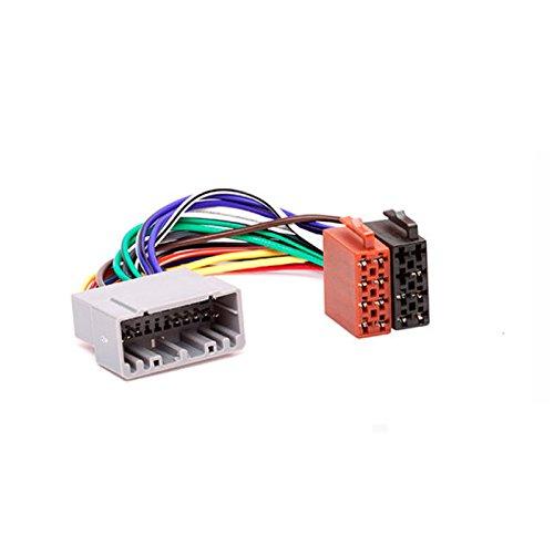 carav 12-007ISO Radio Adapter für Chrysler 2001+ (Select Modelle)/Jeep 2002+ (Select Modelle) Draht Verkabelung Anschluss führen Loom Kabel Plug Adapter Stereo Radio-draht
