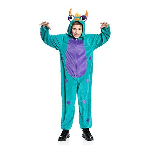 Kostümplanet® Monster-Kostüm Kinder Größe (Grüne Monster Kostüm Mädchen)
