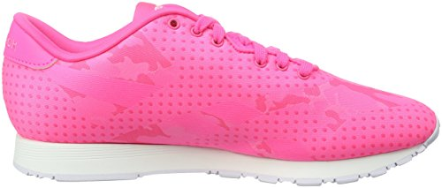 Reebok Classic Nylon Jacquard, Baskets Basses Femme pink