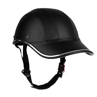 OLEEKA Cycle Helmet, Men Women Teenager Adults Cycling Helmet, Half Open Face Helmet Retro Head Protect Riding Touring Helmet by OLEEKA