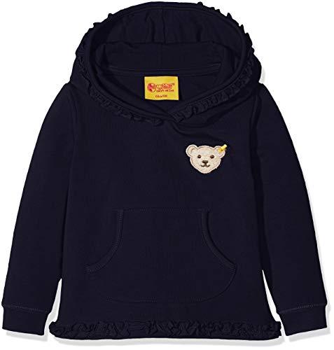 Steiff Baby-Mädchen Sweatshirt Sweathirt 1/1 Arm, Blau (Marine|Blue 3032), 80