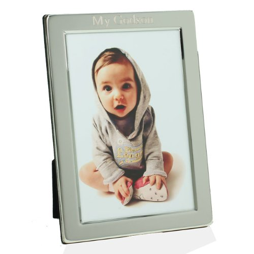 Silver Plated My Godson Photo Frame, 4\