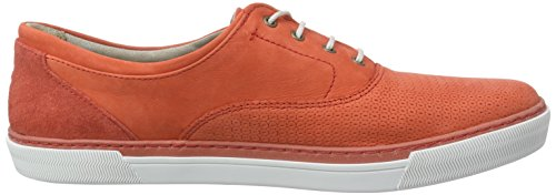 camel active Racket 70 Damen Oxford Schnürhalbschuhe Rot (Fire)
