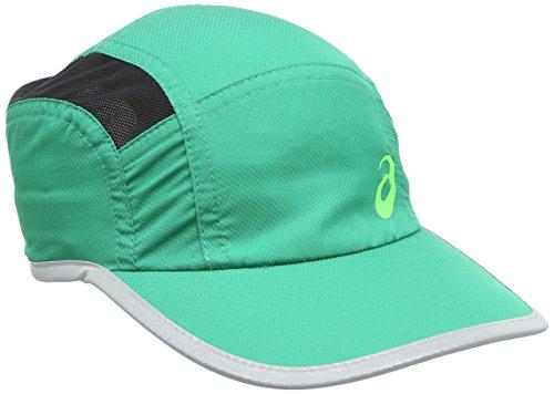 ASICS 123005 - Gorra de running unisex, color verde, 58 cm
