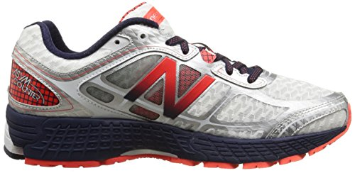 New Balance M860 D V5, Chaussures de course homme Blanc (Wr5 White/Red)