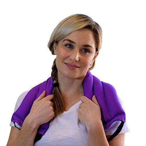 Back Relief-pack (My Heating Pad Mehrzweck-Wickeln Sie Wohltuende Wärme Therapie Arthritis Schmerzlinderung (Lila))