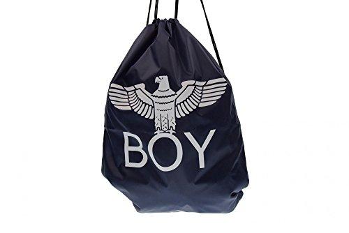 BOY LONDON sacca unisex zainetto con stampa BLA-06 BLU Blu