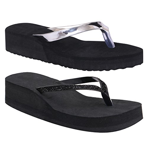Black-Rubber-Rubber-Wedges-Synthetic-Slipper