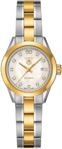 TAG Heuer WV2450.BD0797 - Reloj para mujeres, correa de oro
