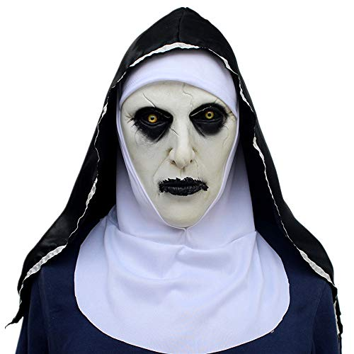 Kostüm Frauen Schwarzer Bär - ZAMAC Halloween Maske Horror Herren Latex Gruselige Blutige Maskerade Neuheit Erwachsene Dämon Masken Perfekt für Fasching Karneval Kostüm Weihnachten Cosplay Kostüme Für Männer und Frauen