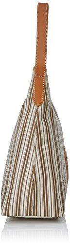Timberland Damen Tb0m5154 Schultertasche, 12x35x33 cm Weiß (Coconut Shell)