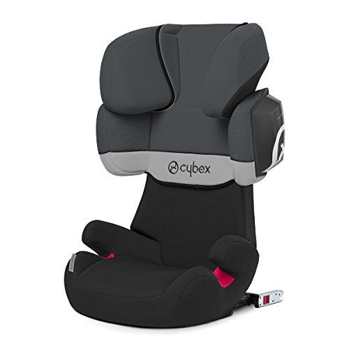 Cybex Solution X2-Fix, Silla de coche grupo 2/3 Isofix, gris...