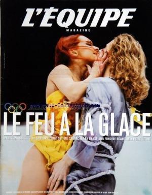 EQUIPE MAGAZINE (L') [No 1032] du 23/02/2002 - JEUX D'HIVER / MARINA ANISSINA ET GWENDAL PEIZERAT