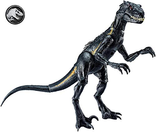 Kostüm Für Jungs Bösewicht - Mattel FVW27 - Jurassic World Indoraptor Dino Figur, beweglich