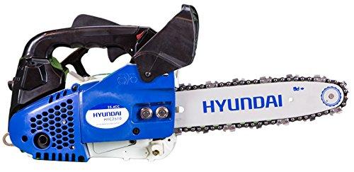 Hyundai Motosierra Gasolina, Azul y Blanco, 30x26x26 cm, HYC2510