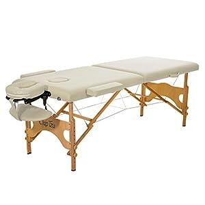 Mobile Massageliege Clap Tzu ECONOMY COMFORT SET, 184×70 cm, crema