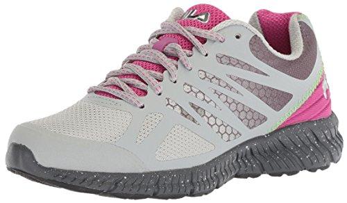 Fila 5JM00078 - Zapatillas para Correr en montaña para Mujer Parent, Color Gris, Talla 36 EU