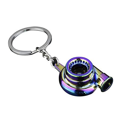 Kongqiabona Kreatives Design Auto modifizierte Turbolader Motor Metall Schlüsselanhänger Taille hängende Schlüsselanhänger Kette Anhänger