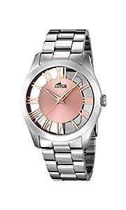 LOTUS 18122/1 - Colección Trendy, reloj de mujer, cadena de acero de Lotus
