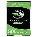 Seagate BarraCudaST500LMZ30/LM030  Interne Festplatte (2,5 Zoll / 6,35 cm), 5400 U/min, 128 MB Cache, SATA 6 Gb/s, bis 140 MB/s, Modell: BarraCuda 500 GB