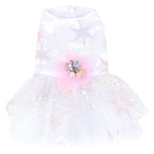 Verkauf Kostüm Auf - smalllee_lucky_store Kleiner Hund Kleidung Hochzeit Kleid Brautjungfer Romantische Tutu für Kleine Hunde, Chihuahua Kleidung Kostüme für Mädchen