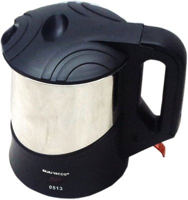 BAJAJ VACCO Electric Kettle Hot Maxx K-05 Medium - S.Steel  available at amazon for Rs.977