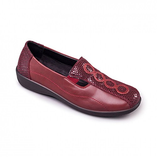 Padders - A collo basso donna Rosso (Reds)