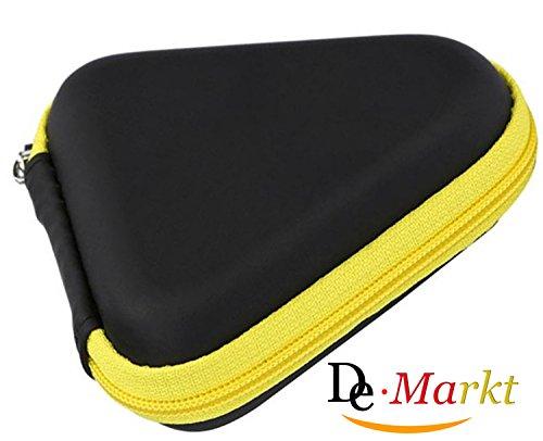 Preisvergleich Produktbild Demarkt Fidget Spinner Box Hand Spinner Box Staubdichtes Gehäuse für Handspinner Gelb 9 * 3.5cm