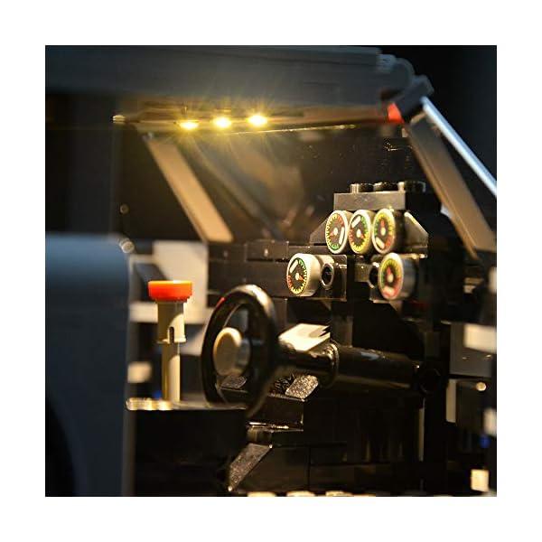 Lightailing-Set-di-Luci-per-James-Bond-Aston-Martin-DB5-Modello-da-costruire-Kit-luce-led-compatibile-con-Lego-10262-NON-incluso-nel-modello