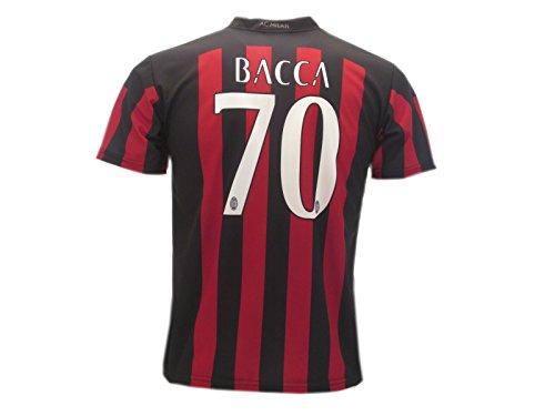 Maglia bacca carlos ufficiale 2015 2016 milan t-shirt nuova jersey ac milan offerta (10 anni)