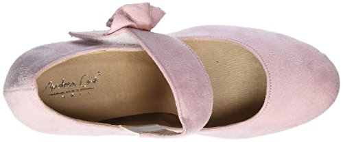 Andrea Conti 0592580, Scarpe col tacco Donna Rosa (Rosa)