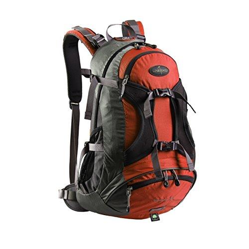 Zaino outdoor alpinismo/Borse di massa impermeabile/Zaino da viaggio/escursione-Army Green 30L arancia 1