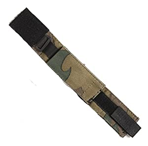 Bracelet De Montre Commando A Scratch En Tissu Souple Leger Camouflage Camo Woodland 259112 Airsoft Militaire