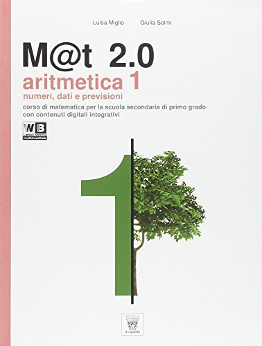 M@t 2.0. Per la Scuola media. Con e-book. Con espansione online: 1