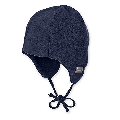 Sterntaler Baby - Jungen Mütze 4501410, Gr. 37 cm, Blau (marine 300) (Baby-fleece-mütze Fleece)