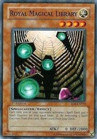 Yu-Gi-Oh. – Royal Bibliothèque magique (sd6-en010) – Structure Deck 6 : spellcaster de Jugement – Unlimited Edition – Common