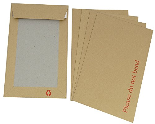 Preisvergleich Produktbild Versandtaschen,  selbstklebend,  20 Stück,  groß,  DIN C4,  robust,  feste Rückseite,  229 mm x 324 mm Originalverpackung