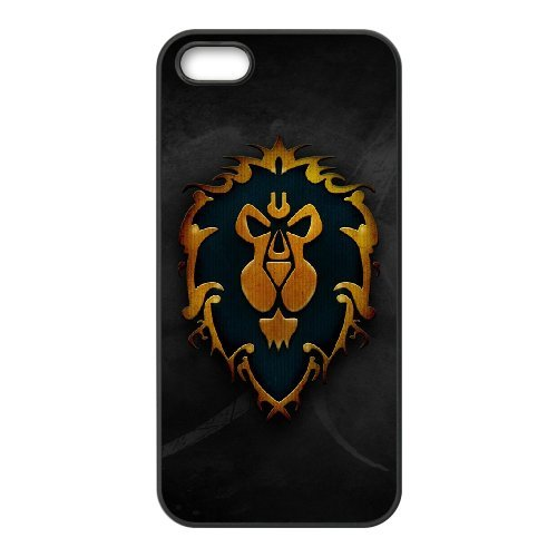 Generic Case Game World of Warcraft Alliance For iPhone 5,5S ZSX1104043