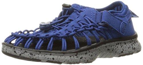 Keen Uneek O2, Scarpe da Arrampicata Basse Unisex – Bambini Blu (True Blue/neutral Grey)
