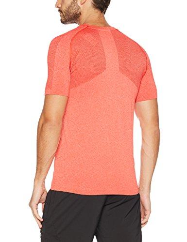 Puma Herren Evoknit Basic Tee Shirt Flame Scarlet