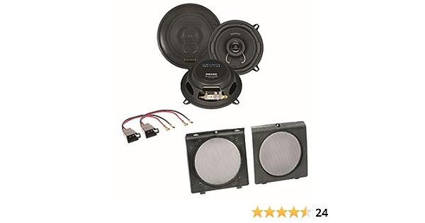 Crunch Dsx52 2 Wege Koaxial Lautsprecher Boxen System Elektronik