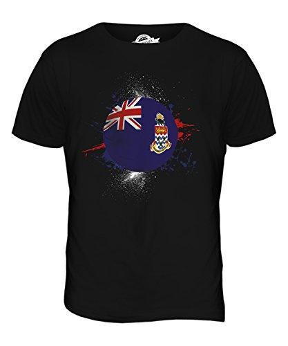 CandyMix Cayman Islands Fußball Herren T Shirt Schwarz