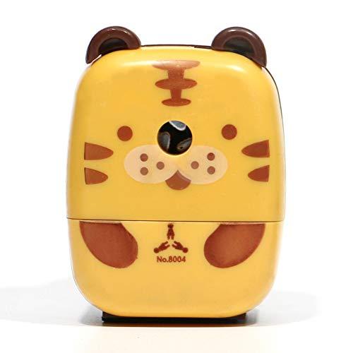 Temperamatite a forma di animale in stile cartone animato, ideale per la scuola, per studenti, idea regalo per la scrivania o per bambini tiger