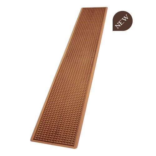 Bar mat tappetino in gomma poggia bicchieri da banco 70x10cm RAME - B008MC
