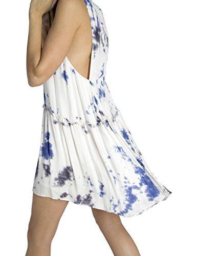 BDBA 085 Dress Blue, Habillé Femme Bleu